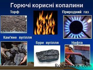 горючі корисні копалини - 2