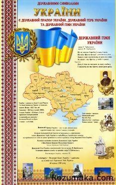 Символіка України. Стенд