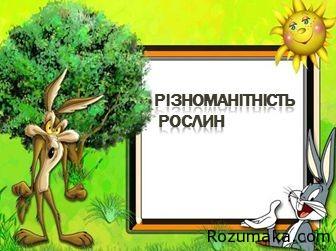 riznomanitnist-roslin-1-klas