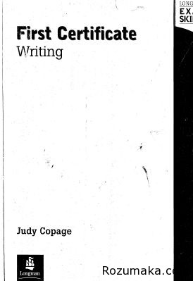 First Certificate Writing Students Book